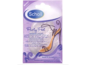 Scholl party feet sula sulor gelé gelesulor inlägg