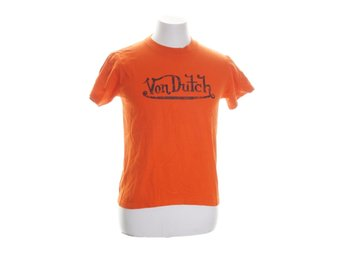 Von Dutch, T-shirt, Orange