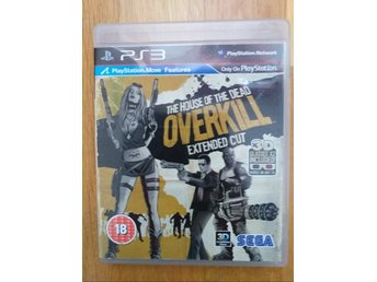PS3: The House of The Dead Overkill Extended Cut i gott skick