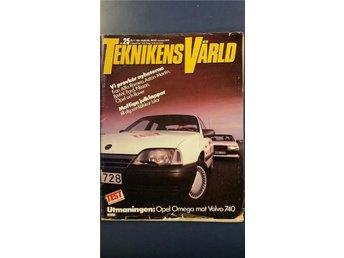 Teknikens Värld nr 25 1986: Citroën CX Prestige, Alfa 33 QV, BMW 325i cab, Omega - Uppsala - Teknikens Värld nr 25 1986: Citroën CX Prestige, Alfa 33 QV, BMW 325i cab, Omega - Uppsala