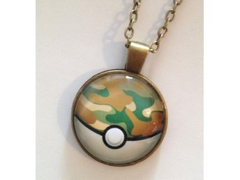 Pokémon halsband Pokeball anime safari boll