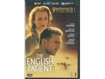 THE ENGLISH PATIENT -RALPH FIENNES   ( SVENSKT TEXT )