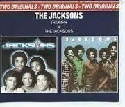 "Dubbel-CD-skiva The Jacksons ""Triumph/The Jacksonsl"""