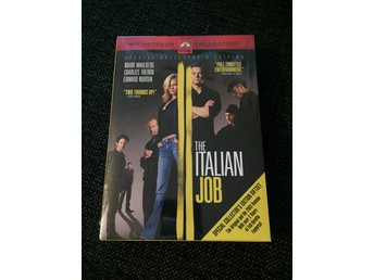The Italian job - Special Collectors Edition - INPLASTAD - Sv. Text