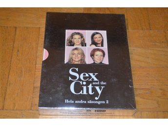 Sex And The City - Hela Säsong 2 - 3-Disc - DVD