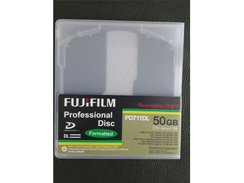 5 pack Fujifilm PD711DL 50gb XDCam Disk