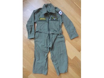 Air Force pilot kostym i khaki