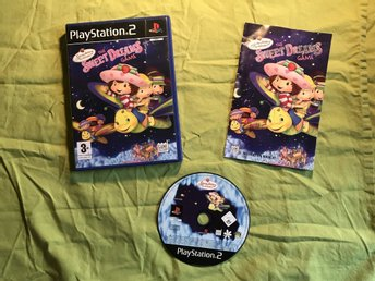 STRAWBERRY SHORTCAKE THE SWEET DREAMS GAME  PS2 PLAYSTATION 2