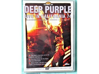 DVD  Hårdrock - Deep Purple - Live In California 74