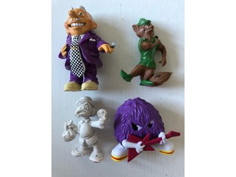 PVC figurer - Disney, Fragglarna mfl.