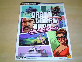 Grand Theft Auto Vice City Stories Spelguide Guide till Sony PSP *NYTT*