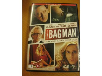 THE BAG MAN - ROBERT DE NIRO, JOHN CUSACK - DVD 2015
