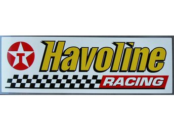 Klistermärke Texaco Havoline Racing