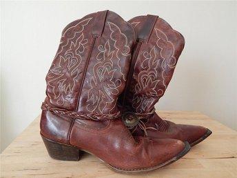 Cowboy boots stövlar storlek 39 läder - Karlshamn - Cowboy boots stövlar storlek 39 läder - Karlshamn