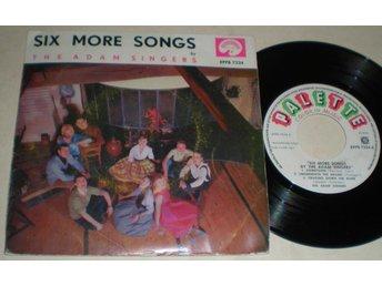 Adam Singers EP/PS Six More Songs 1961 - Farsta - Adam Singers EP/PS Six More Songs 1961 - Farsta