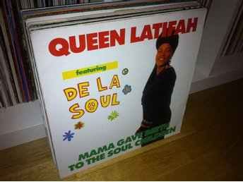 "Queen Latifah ft. De La Soul - Mama Gave Birth to the Soul Children 12"" 1990"