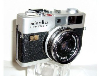 Analog kompaktkamera Minolta Hi Matic F Med Hoya UV-filter - Trädet - Analog kompaktkamera Minolta Hi Matic F Med Hoya UV-filter - Trädet