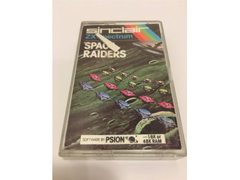 Space Raiders till ZX Spectrum - Psion Ltd - 1982