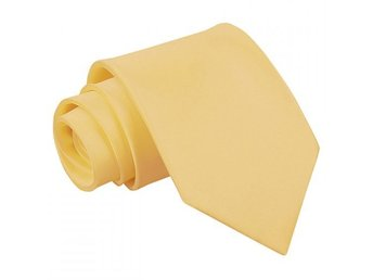 Ljus gul (pale yellow) satin slips _ Regular