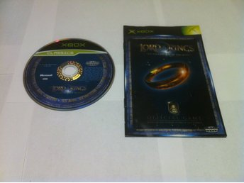 Xbox: The Lord of the RIngs: The Fellowship of the Rings