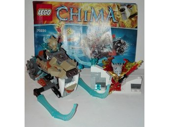"LEGO Chima ""Strainor's Sabre Cycle"""