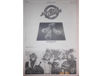 MANFRED MANN'S EARTH BAND - NIGHTINGALES & BOMBERS, STOR TIDNINGSANNONS 1975