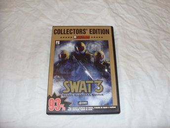 Sierra Swat 3 Close Quarters Battle Collectors Edition PC CD ROM Engelsk shooter