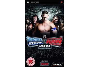 WWE Smackdown Vs Raw 2010 - Playstation PSP