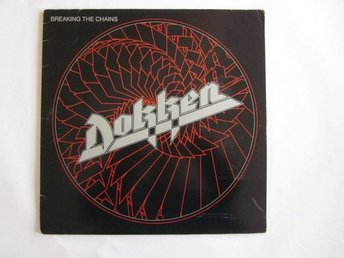 Dokken -Breaking the chains LP Canadian press 1983 Elektra