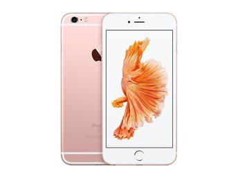 Apple iPhone 6s Plus 16GB, rosa, rose, RIMLIGT SKICK
