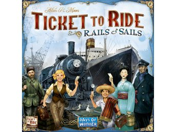 Ticket to Ride Rails & Sails - Brädspel