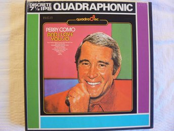 RULLBAND-Fyrkanals  Perry Como-And I Love You So  RCA EPQ1 0100-QF 1973