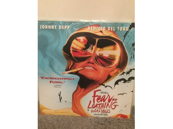 Fear and loathing i Las Vegas US LASERDISC  Johnny Depp Terry Gilliam