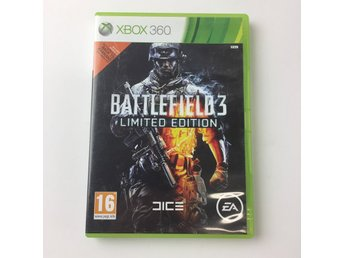XBOX-Spel, Battlefield 3, limited edition