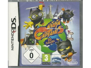Ninja captains - 20 games  -Nytt & inplastat