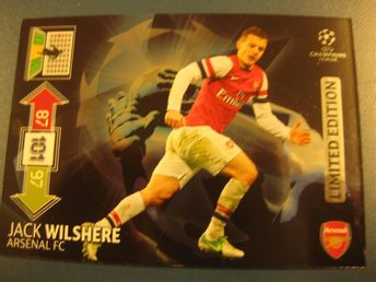 LIMITED EDITION  - JACK WILSHERE  - ARSENAL - CHAMPIONS LEAGUE 2012-2013 UPDATE