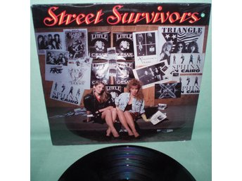 V.A. -STREET SURVIVORS , LP metal blade 1989, Black Cherry, Tomorrow's Child mfl