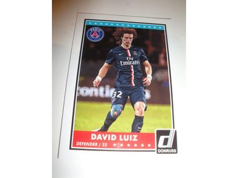 Panini Donruss Soccer 2015 - DAVID LUIZ - Paris Saint-Germain PSG