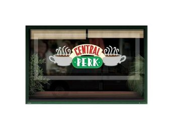 Friends Affisch Central Perk Window A241