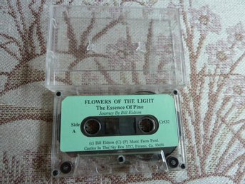 FLOWERS OF THE LIGHT, THE ESSENCE OF PINE, KASSETT - Anderstorp - FLOWERS OF THE LIGHT, THE ESSENCE OF PINE, KASSETT - Anderstorp
