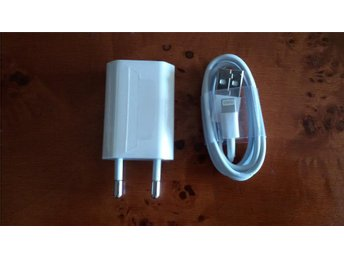 iPhone 5S , iPhone 5, iPhone 6 Original  laddare + USB kabel