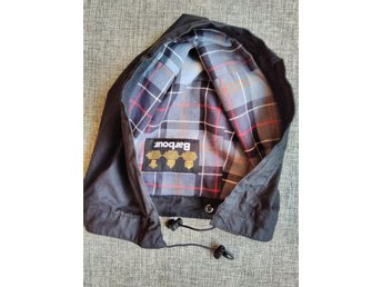 Barbour huva/luva (waxed cotton hood) one size
