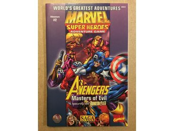Avengers: Masters of Evil, Adventure #2 (Marvel Super Heroes RPG)