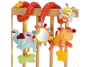 Cute Animal Handbells Developmental Toy Rattle Bed Bells Soft Toys For Kids Baby - Govindapuram - Cute Animal Handbells Developmental Toy Rattle Bed Bells Soft Toys For Kids Baby - Govindapuram
