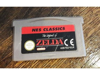 Zelda - Classic Nes - Gameboy advance GBA spel