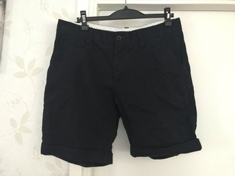 selected homme shorts - paris navy chino shorts - stl large fint skick