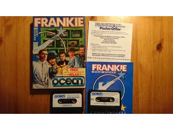 COMMODORE 64 originalspel... FRANKIE GOES TO HOLLYWOOD