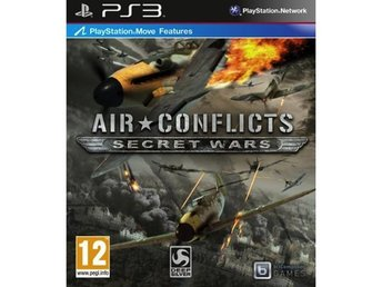 Air Conflicts - Secret Wars - Move - Playstation 3