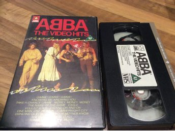 ABBA THE VIDEO HITS VHS