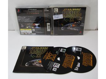 Star Wars Rebel Assault II 2 till japansk Playstation PS1